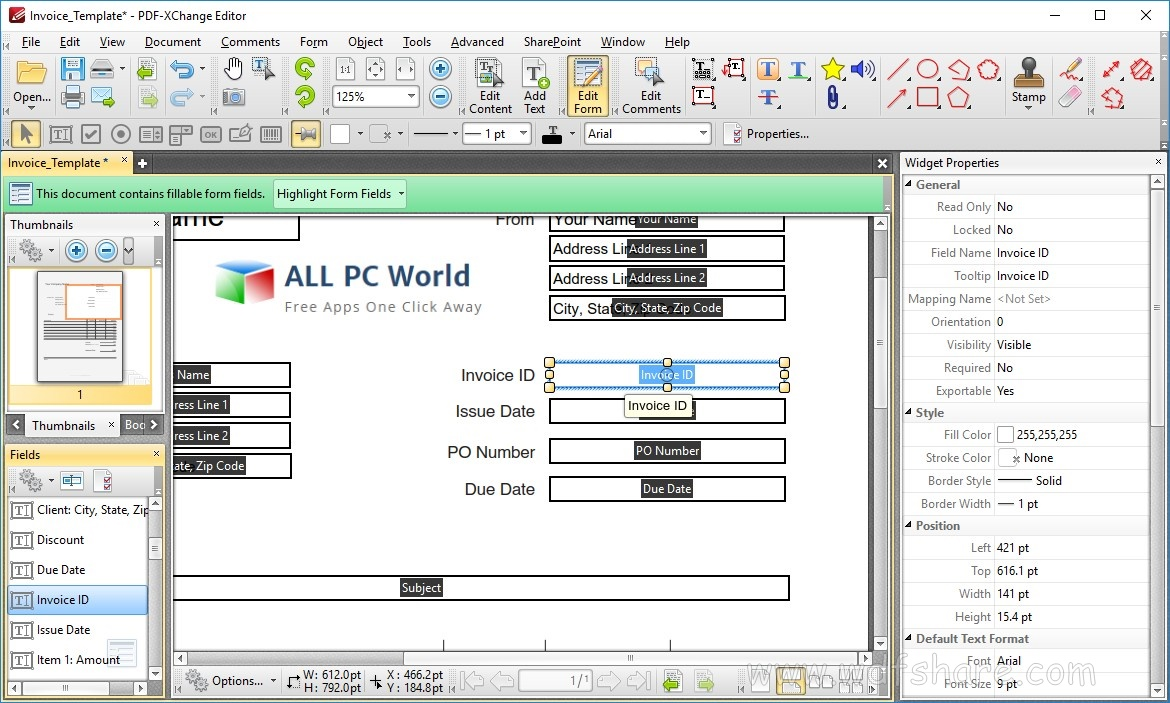 PDF-XChange Editor Plus download gratis