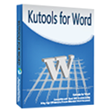 Kutools for Word 8.90 Full Crack