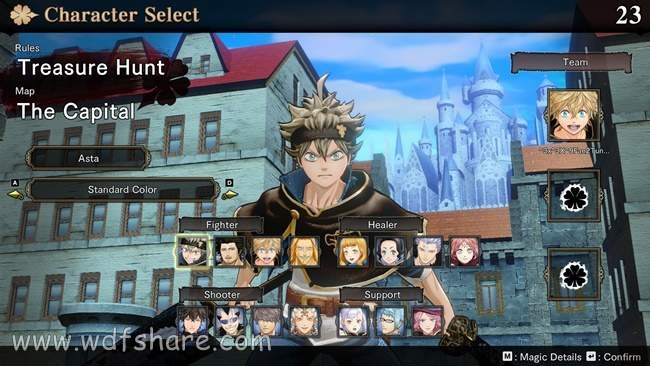 Black Clover Quartet Knights setup codex