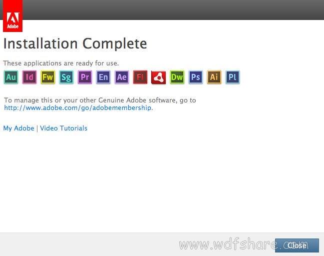 Adobe Master Collection CC full setup